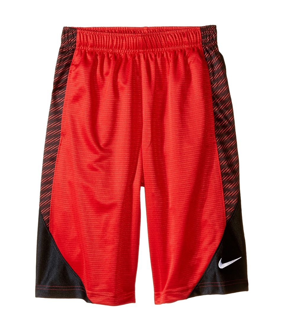 Nike Kids - Avalanche Aop6 Shorts (Little Kids/Big Kids) (University Red/Black/Black/White) Boy's Shorts