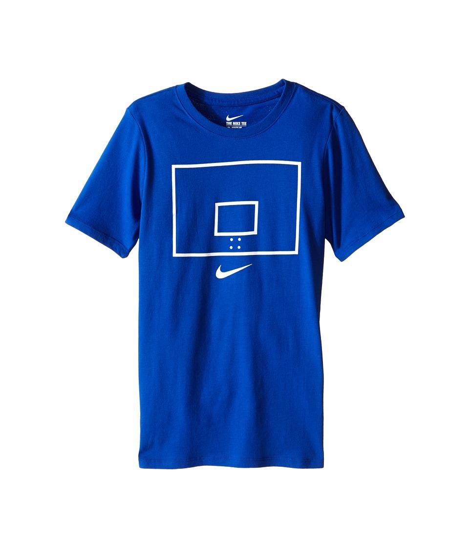 Nike Kids - Backboard Image TD Tee (Little Kids/Big Kids) (Game Royal) Boy's T Shirt