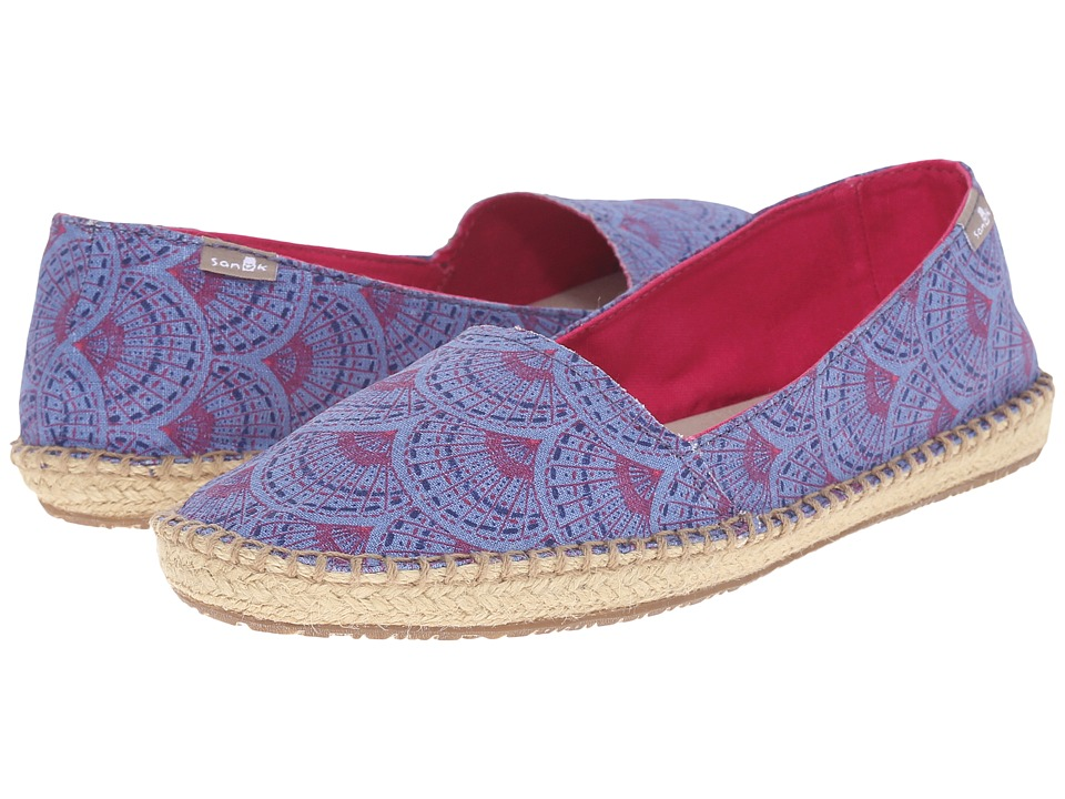 Sanuk - Natal (Iris Sunrise) Women's Flat Shoes