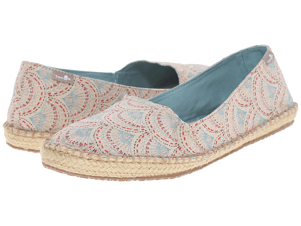 Sanuk - Natal (Ivory Sunrise) Women's Flat Shoes