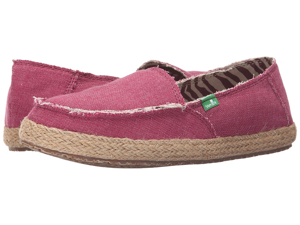 Sanuk - Fiona (Dusty Boysenberry) Women's Slip on Shoes