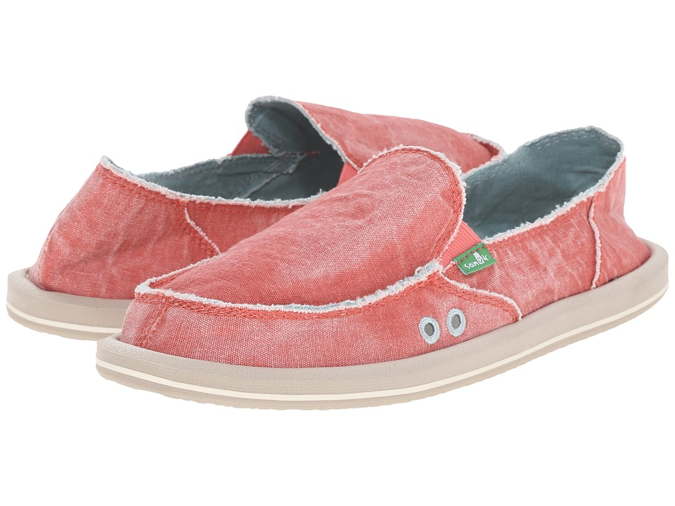 Sanuk Donna Distressed (Spiced Coral) Women