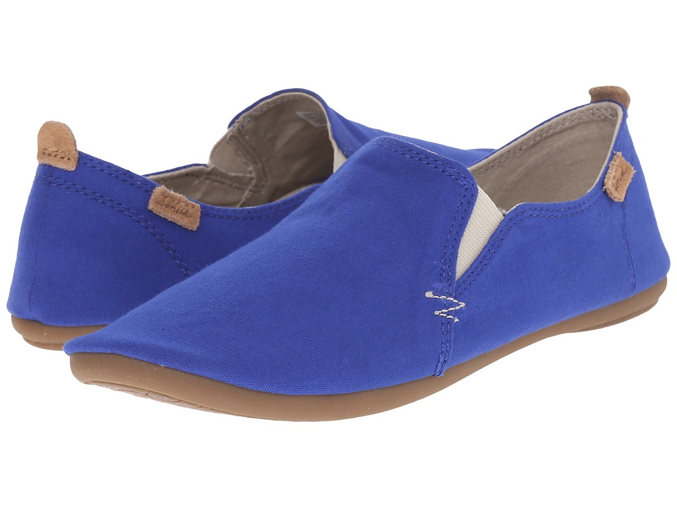 Sanuk - Isabel (Deep Blue) Women's Slip on Shoes