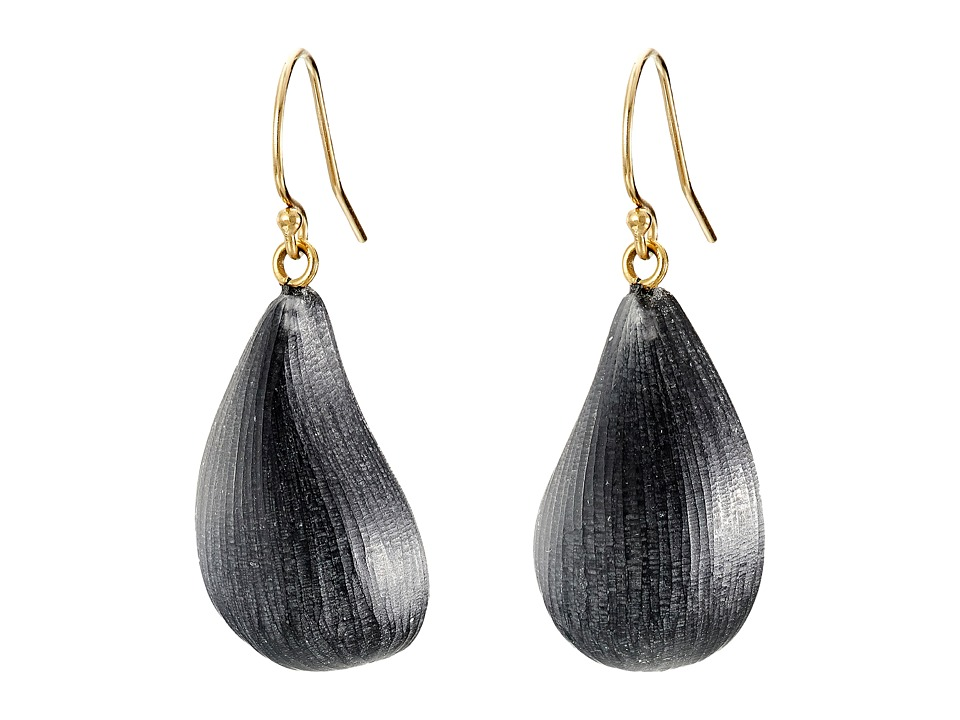 Alexis Bittar - Dewdrop Earrings (Black) Earring