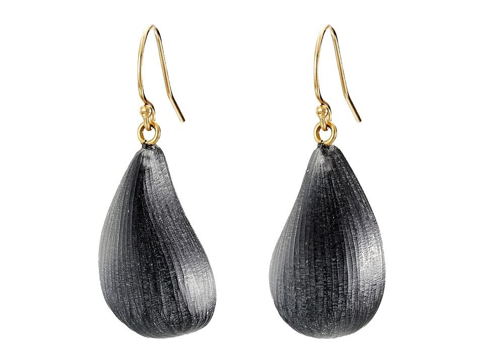 Alexis Bittar - Dewdrop Earrings (Black) Earring