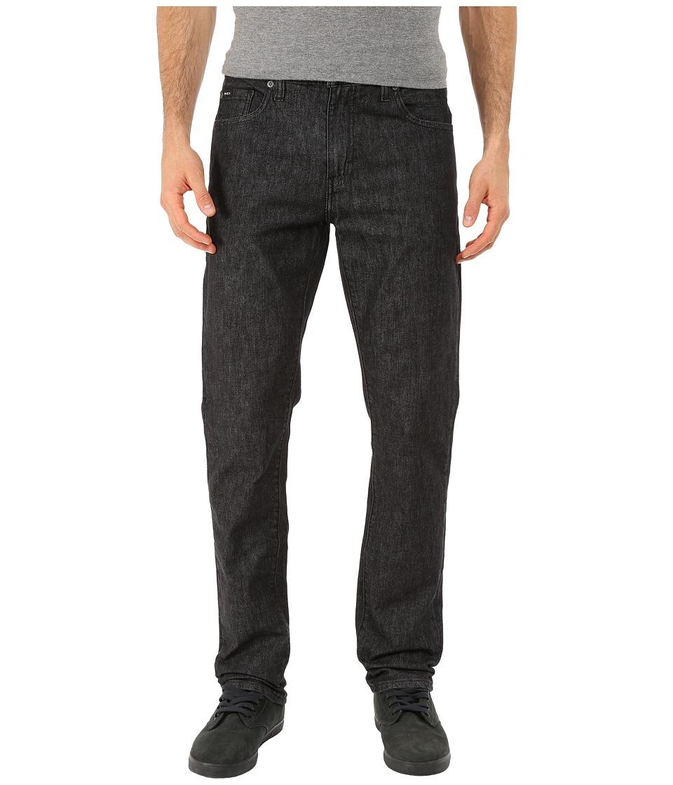 RVCA - Daggers Denim (Heritage Black) Men's Jeans