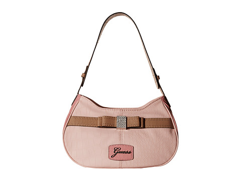 GUESS - Hesperia Top Zip (Blush Multi) Shoulder Handbags