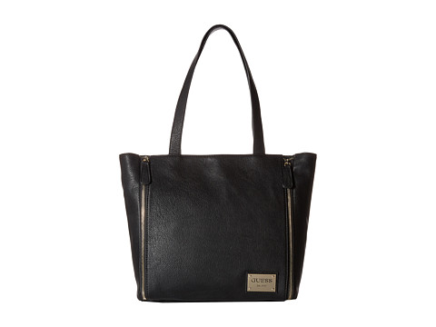 GUESS - Kingstown Tote (Black) Tote Handbags