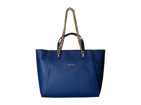 GUESS - Nikki Chain Tote (Ocean) Tote Handbags