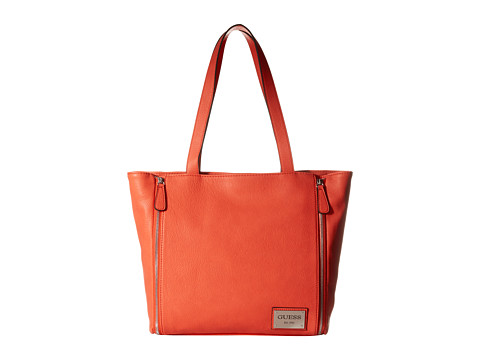 GUESS - Kingstown Tote (Red) Tote Handbags