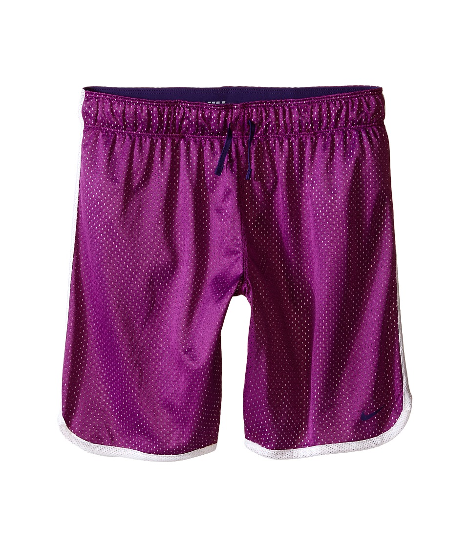 Nike Kids - 7 Mesh Short (Little Kids/Big Kids) (Cosmic Purple/White/Court Purple) Girl's Shorts