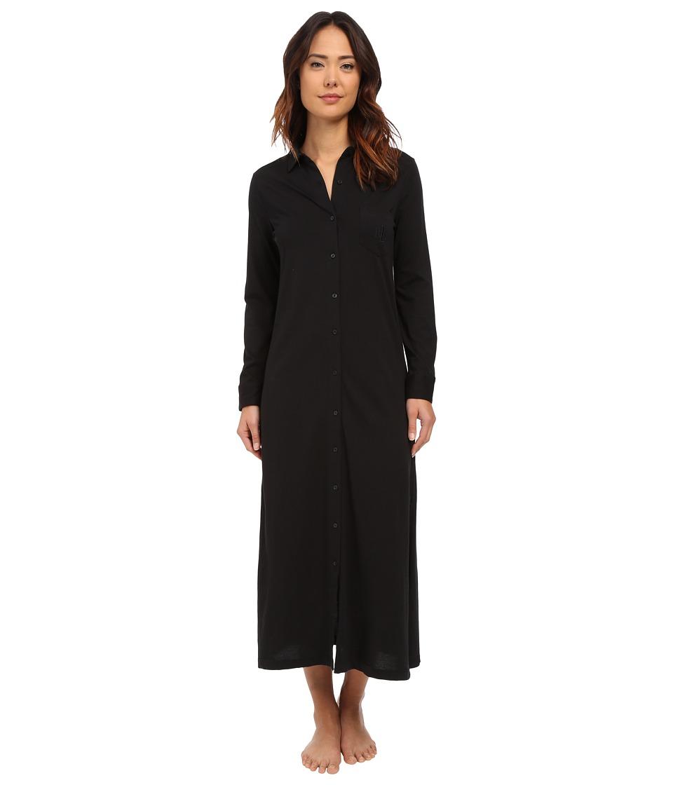 LAUREN Ralph Lauren - Maxi Sleepshirt (Black) Women's Pajama