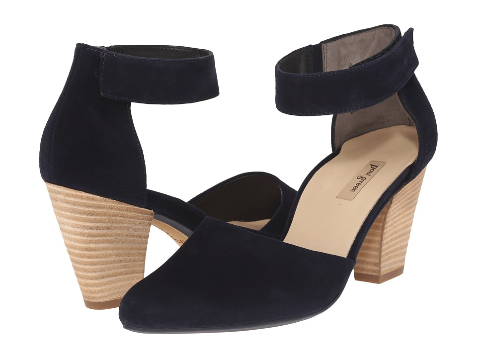Paul Green - Charmaine (Blue Suede) High Heels
