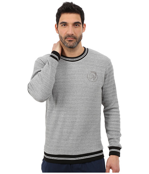 Diesel - Willy Sweatshirt SAIM (Grey) Men's Sweatshirt