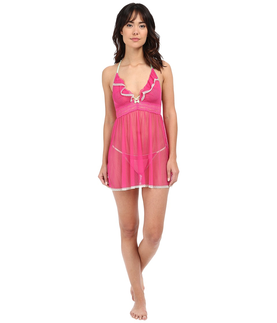 Betsey Johnson - Eyelet Mesh Babydoll (Layla Rose) Women's Pajama