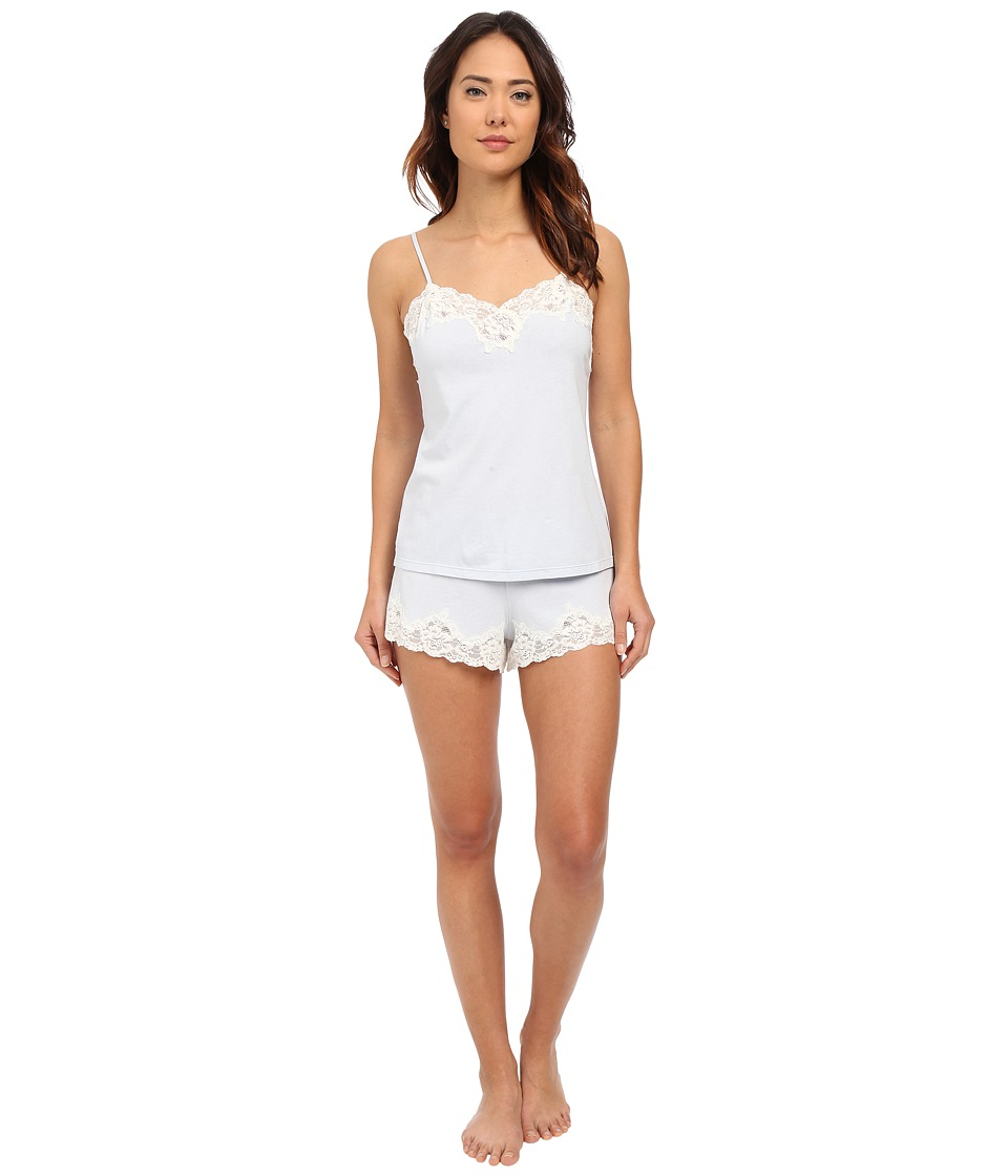 LAUREN Ralph Lauren - Knit Cami Top Pajama Set (Blue) Women's Pajama Sets