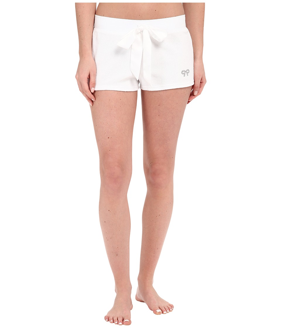 Betsey Johnson - Baby Terry Shorts (Sonic White) Women's Pajama