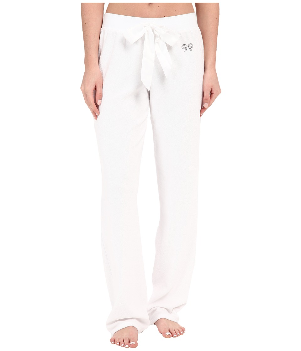 Betsey Johnson - Baby Terry Pants (Sonic White) Women's Pajama