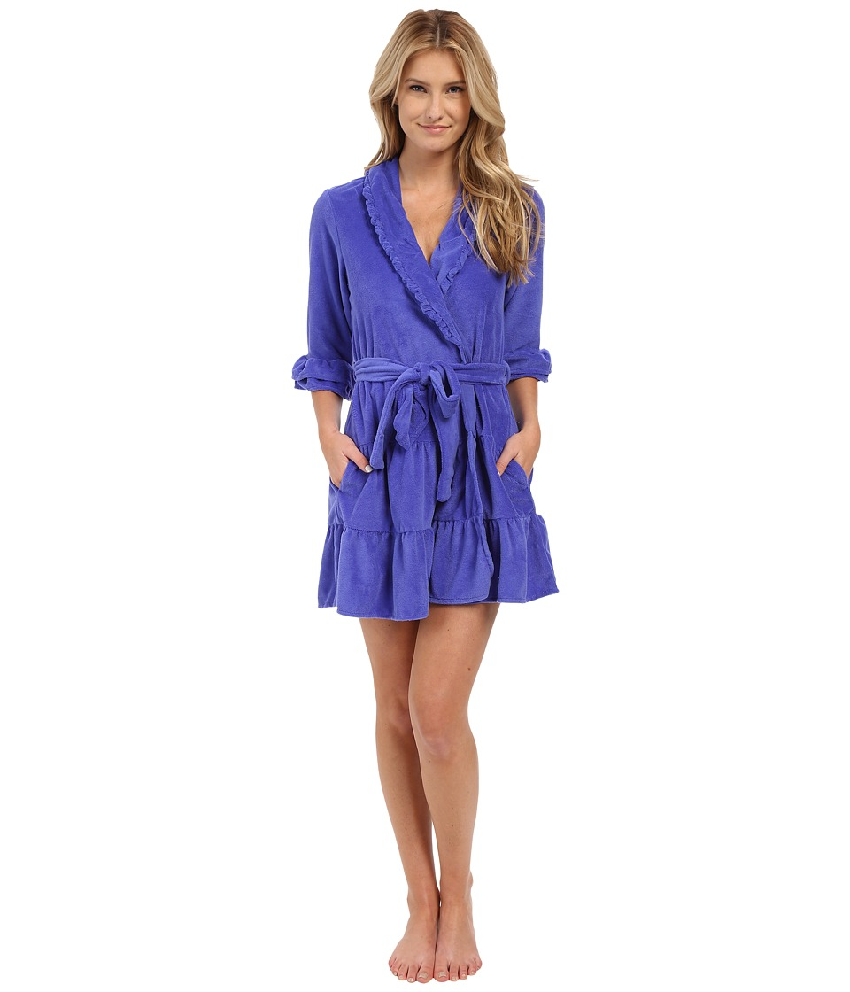Betsey Johnson - Vintage Terry Robe (Wild Blue Yonder) Women's Robe