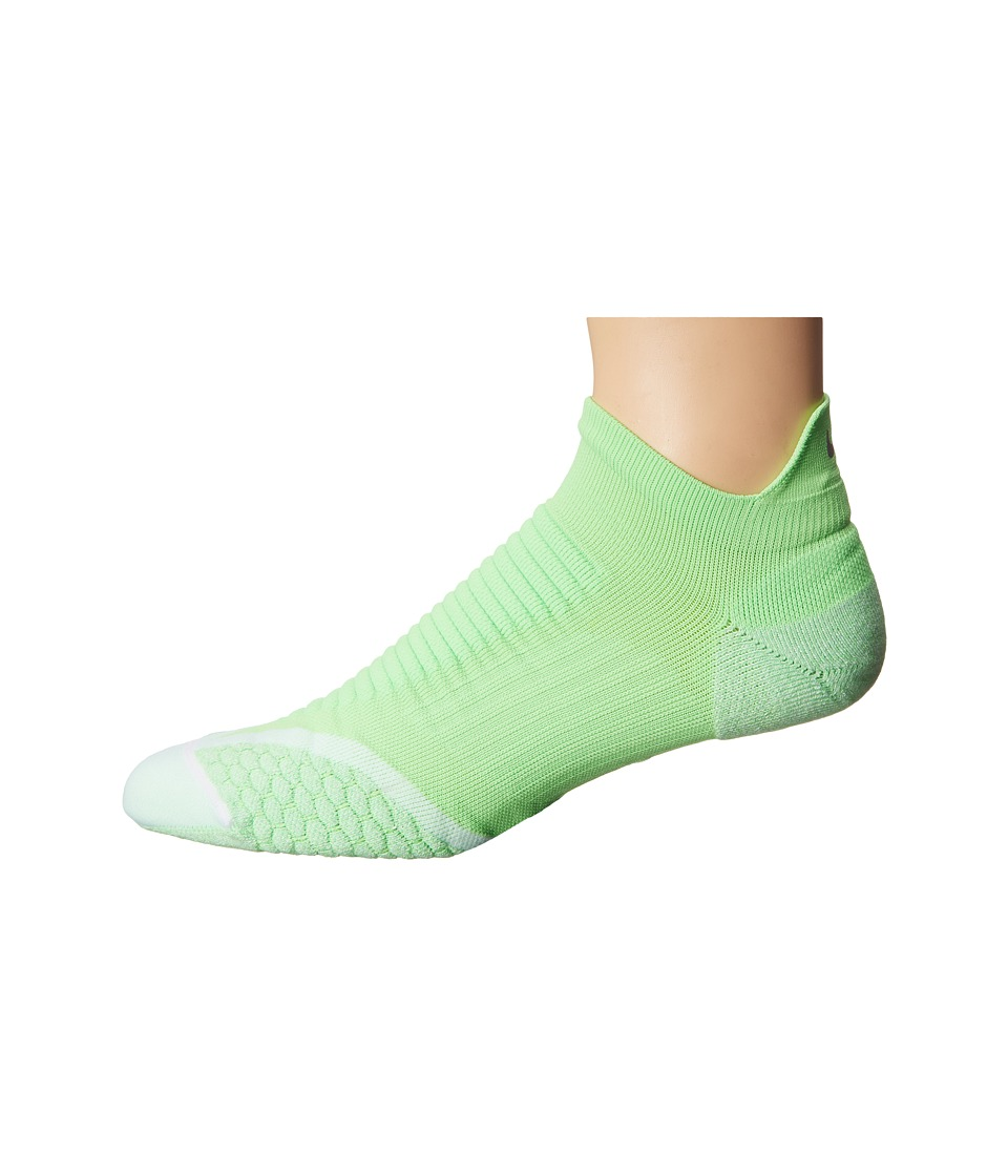 Nike Golf - Elite Cushion No Show Tab (Voltage Green/White/Refsil) Men's No Show Socks Shoes