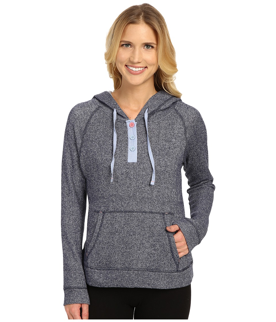 Jane & Bleecker - French Terry Hoodie 3561108 (Navy) Women's Sweatshirt