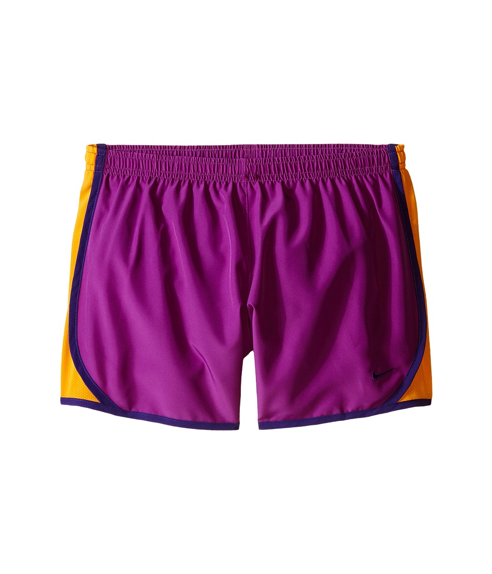 Nike Kids - Tempo Short (Little Kids/Big Kids) (Cosmic Purple/Vivid Orange/Court Purple) Girl's Shorts