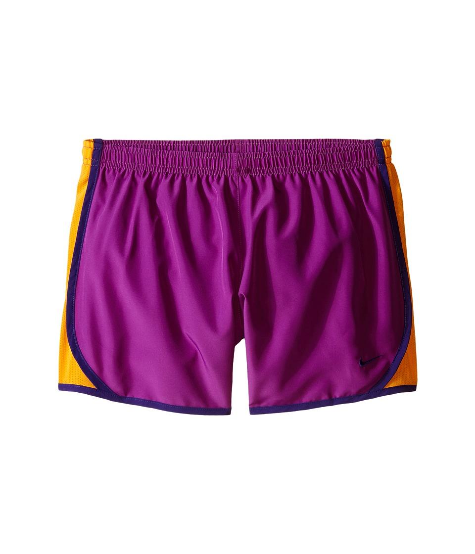 Nike Kids - Tempo Short (Little Kids/Big Kids) (Cosmic Purple/Vivid Orange/Court Purple) Girl's Shorts