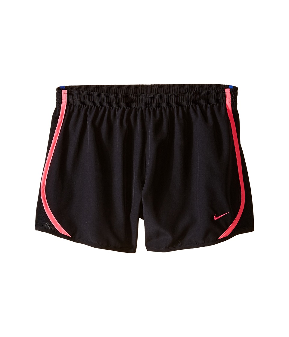 Nike Kids - Tempo Short (Little Kids/Big Kids) (Black/Black/Hyper Pink/Vivid Pink) Girl's Shorts