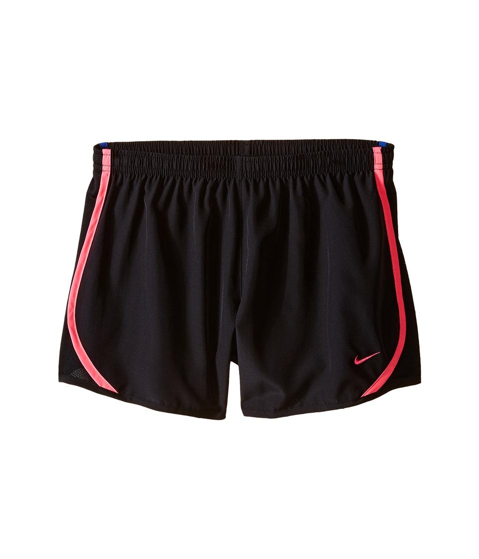 Nike Kids - Tempo Short (Little Kids/Big Kids) (Black/Black/Hyper Pink/Vivid Pink) Girl's Shorts