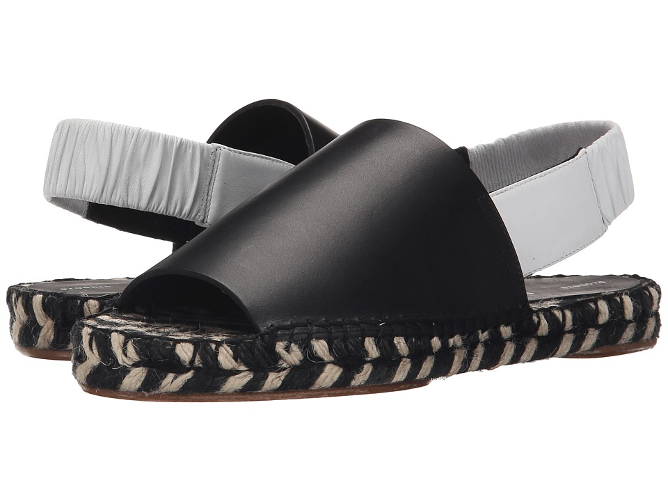 Proenza Schouler - Flat Slingback Sandal (Black) Women's Sling Back Shoes plus size,  plus size fashion plus size appare