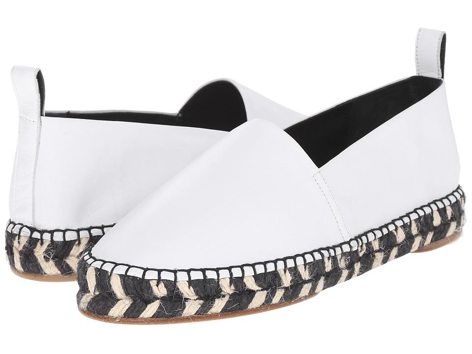 Proenza Schouler - Graphic Print Sole Espadrille (White 1) Women's Shoes