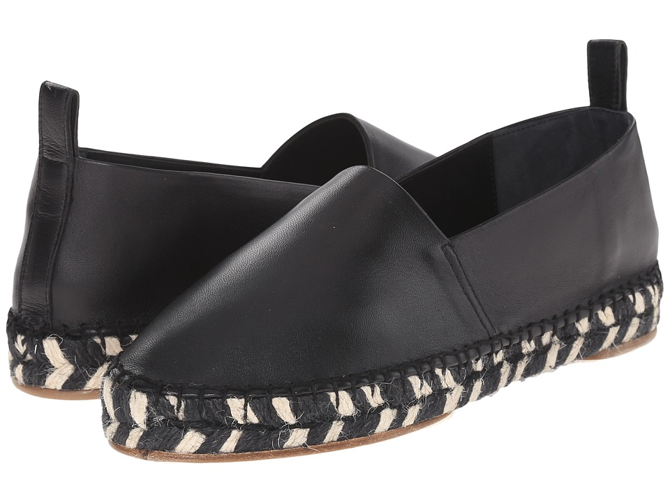 Proenza Schouler - Graphic Print Sole Espadrille (Black 1) Women's Shoes