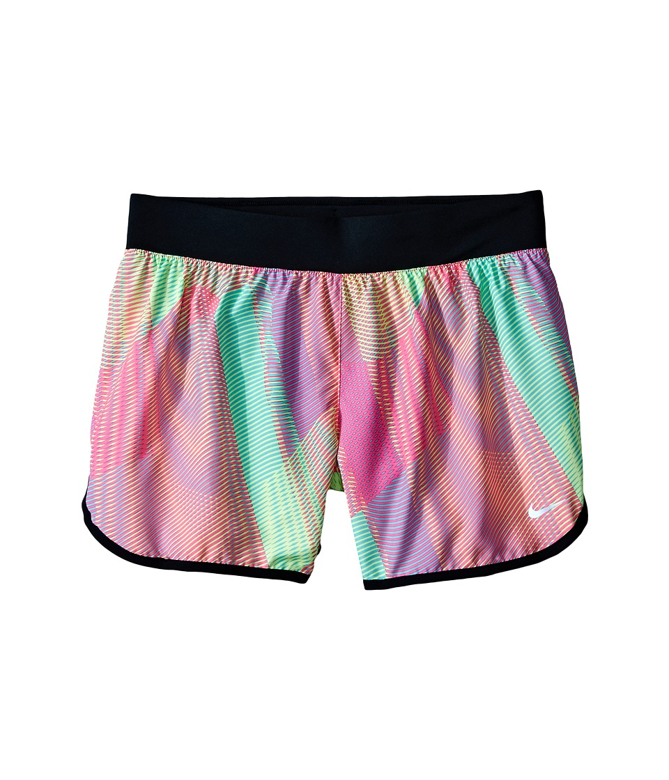 Nike Kids - Tempo Rival Printed Running Short (Little Kids/Big Kids) (Hyper Pink/Black/Hyper Pink) Girl's Shorts