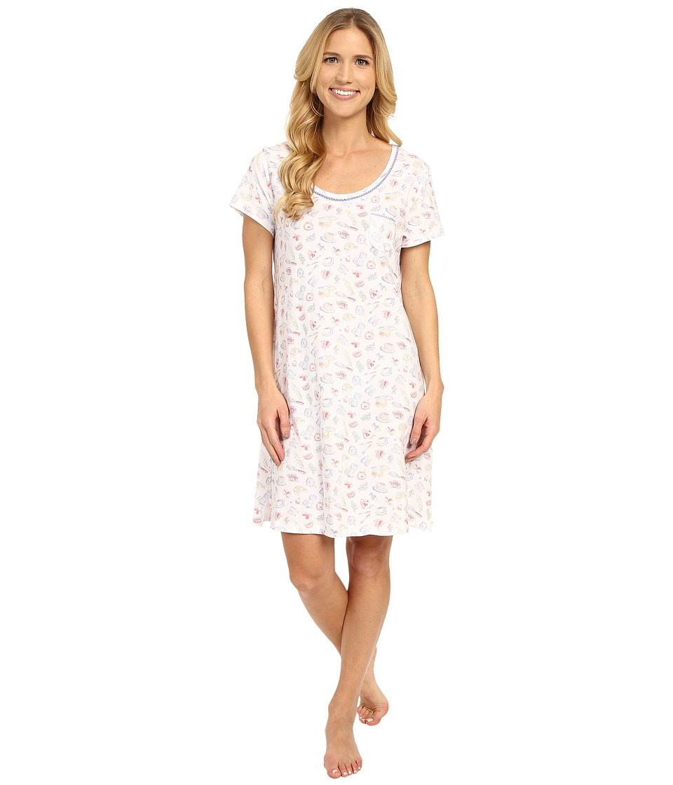 Carole Hochman - Cotton Novelty Printed Sleepshirt (Rise/Shine) Women's Pajama