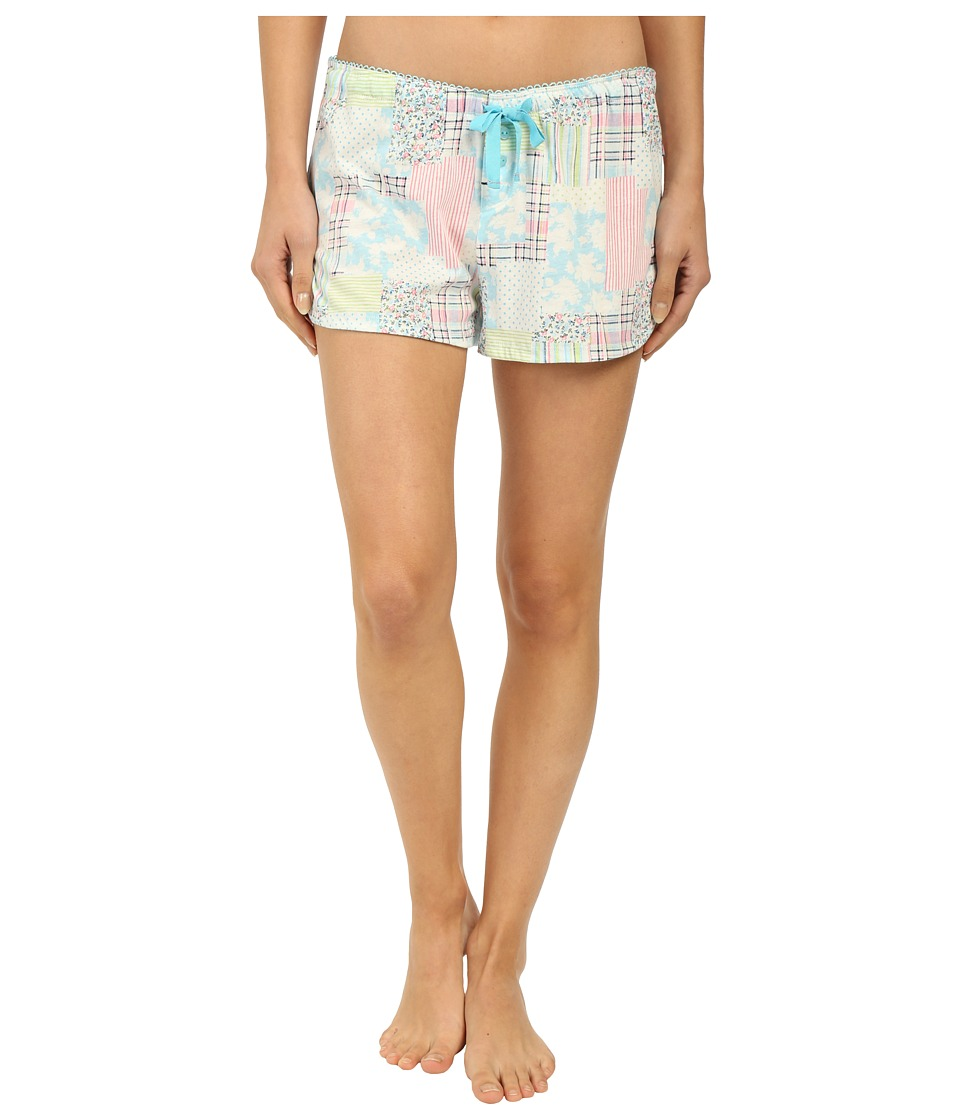 Jane & Bleecker - Jersey Shorts 3561101 (Patchwork) Women's Pajama