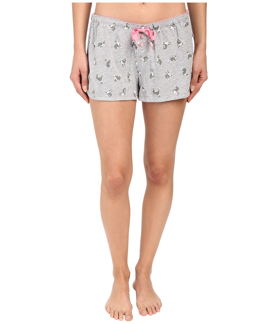 Jane & Bleecker - Jersey Shorts 3561101 (Terrier) Women's Pajama