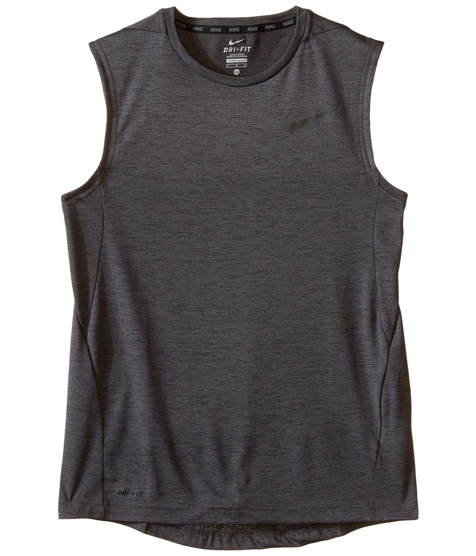 Nike Kids - Dri-FIT Training Muscle Tank Top (Little Kids/Big Kids) (Black/Anthracite/Black) Boy's Sleeveless