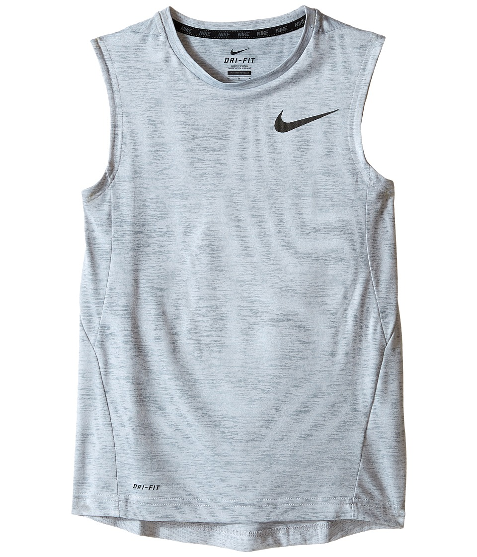 Nike Kids - Dri-FIT Training Muscle Tank Top (Little Kids/Big Kids) (Cool Grey/Wolf Grey/Black) Boy's Sleeveless