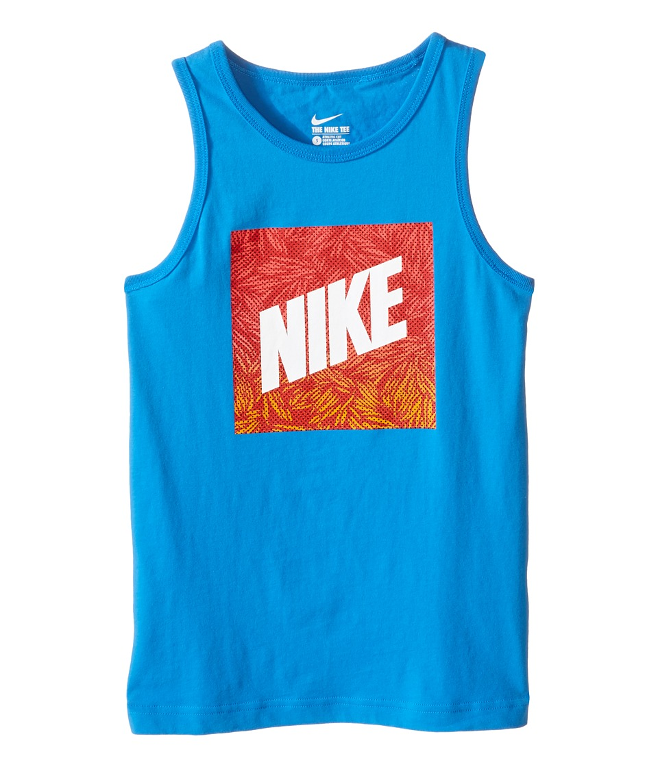Nike Kids - NSW Verbiage Tank Top 2 (Little Kids/Big Kids) (Light Photo Blue) Boy's Sleeveless
