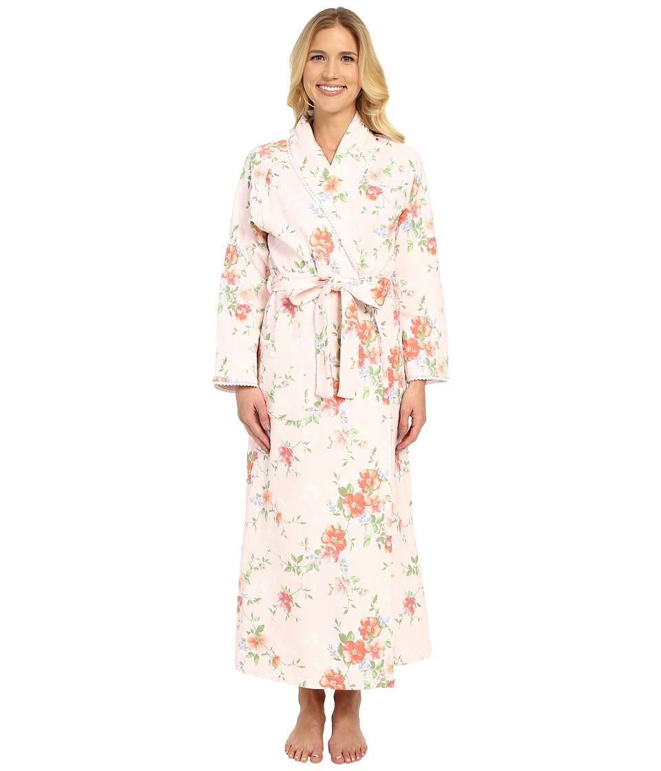 Carole Hochman - Long Shawl Collar Robe (Meadow) Women's Robe