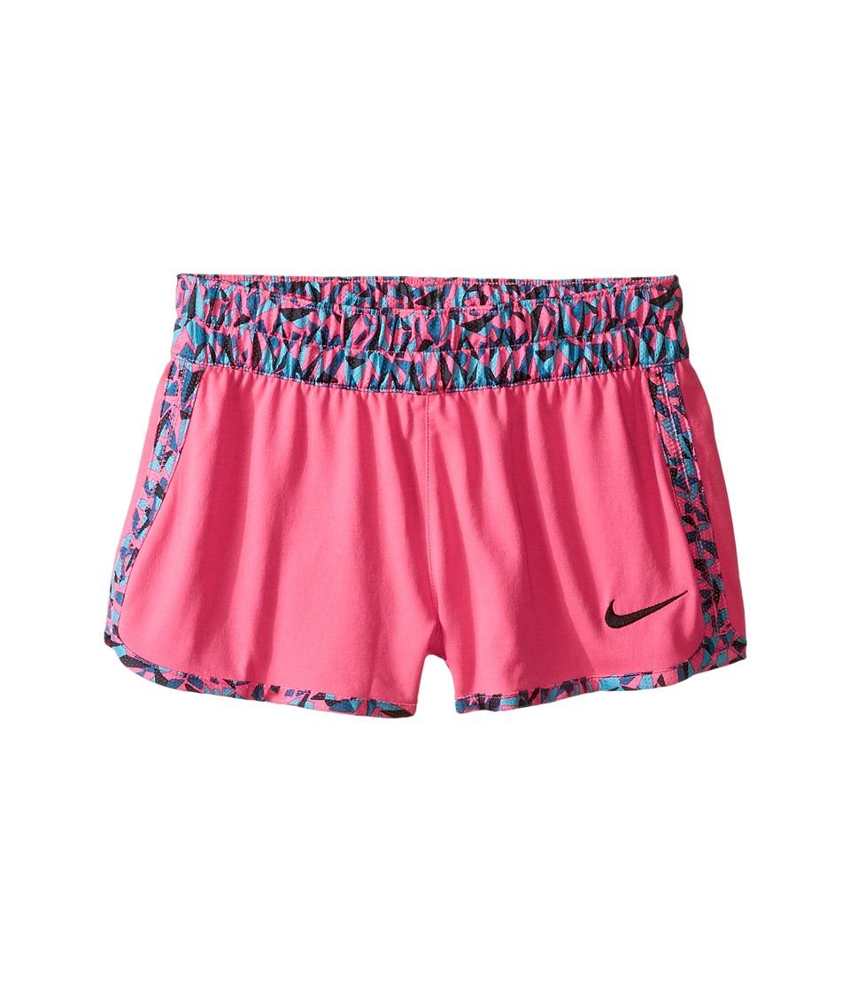 Nike Kids - Gym Reversible Short (Little Kids/Big Kids) (Hyper Pink/Black/Black) Girl's Shorts