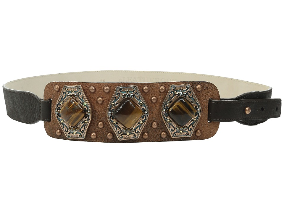 Leatherock - 1529 (Brandy) Women's Belts