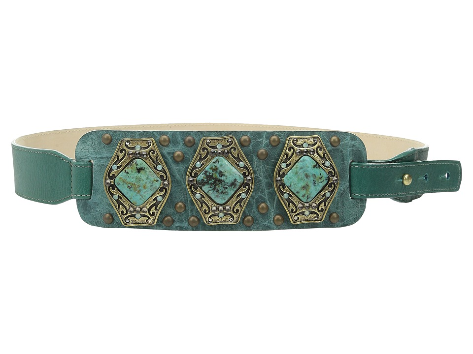 Leatherock - 1529 (Teal) Women's Belts