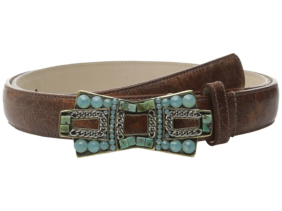 Leatherock - 4542 (Cognac) Women's Belts