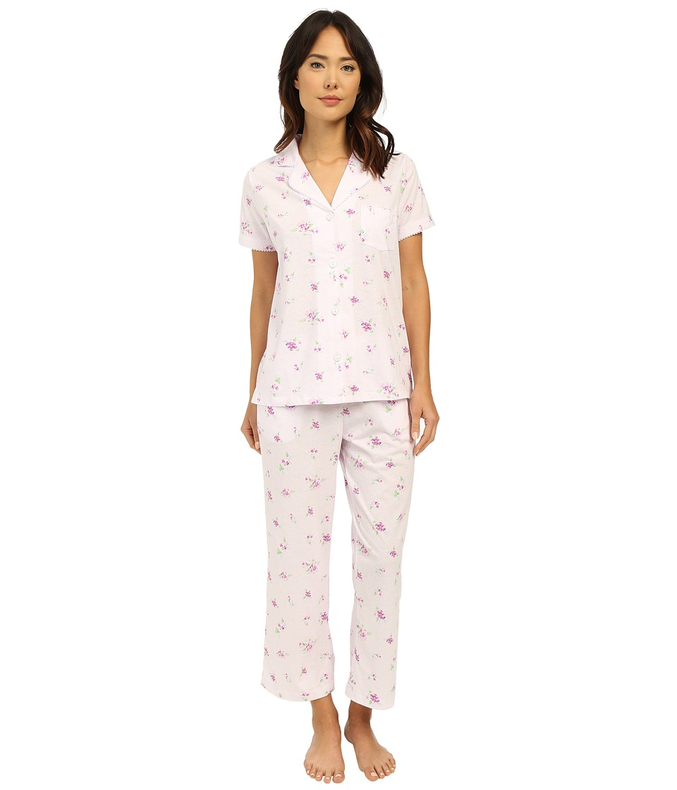 Carole Hochman - Capris Pajama (Twin Violet) Women's Pajama Sets