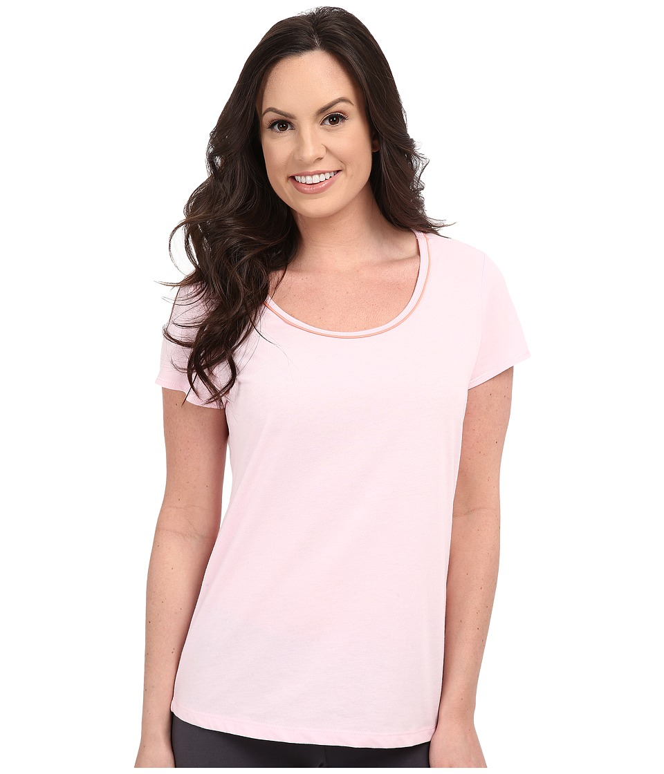 Jockey - Cap Sleeve Tee (Pink) Women's Pajama