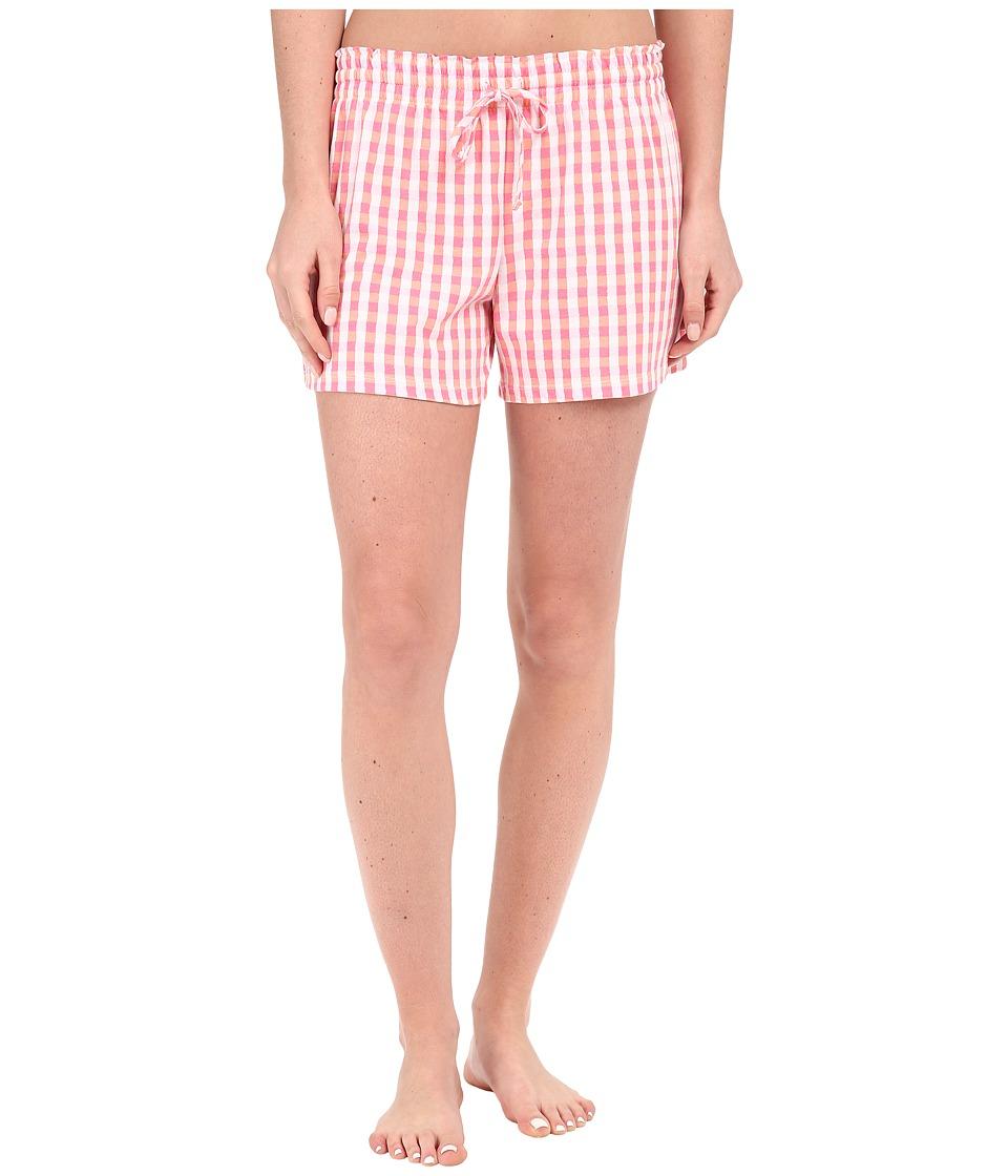 Jockey - Print Cotton Boxer (Plaid) Women's Pajama