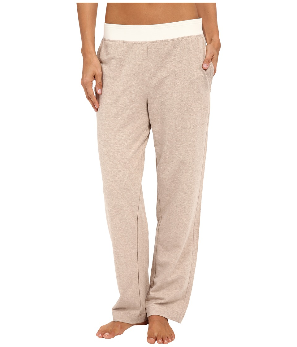 Carole Hochman - French Terry Pants (Mocha Heather) Women's Pajama