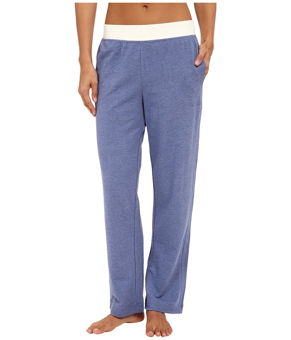 Carole Hochman - French Terry Pants (Blue Heather) Women's Pajama