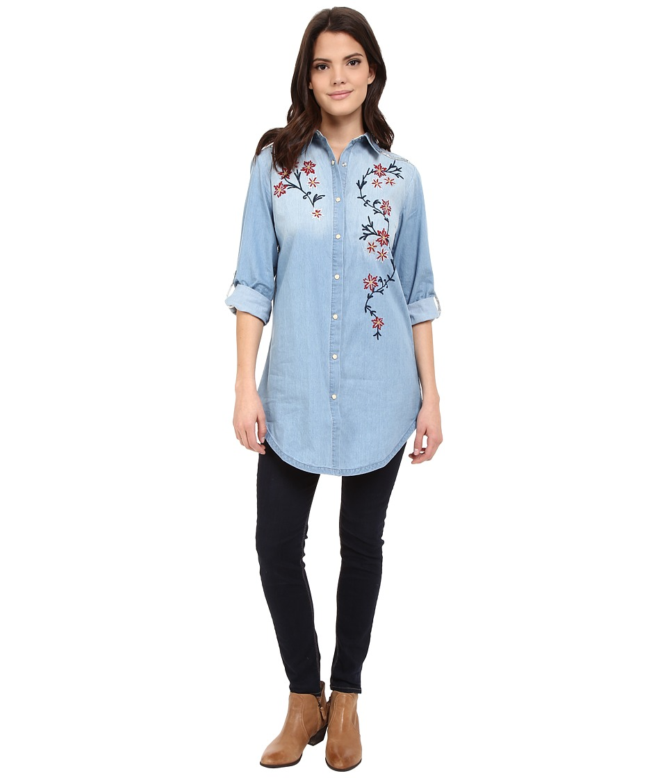 Tasha Polizzi - Wigwam Shirt (Blue Wash) Women's Clothing